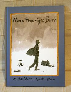"""""""Mein trauriges Buch"""" von Michael Rosen. Foto: Wenke Bönisch"""