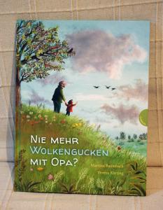 """""""Nie mehr Wolkengucken mit Opa?"""" von Martina Baumbach. Foto: Wenke Bönisch"""