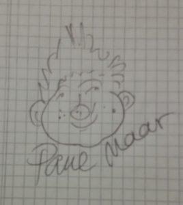 Autogramm Paul Maar mit Sams