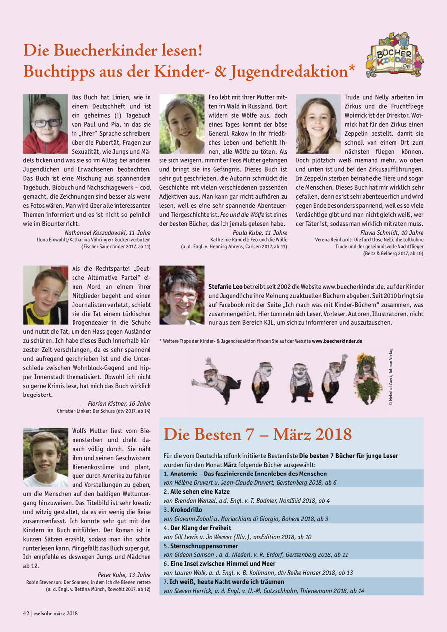 Eselsohr März 2018