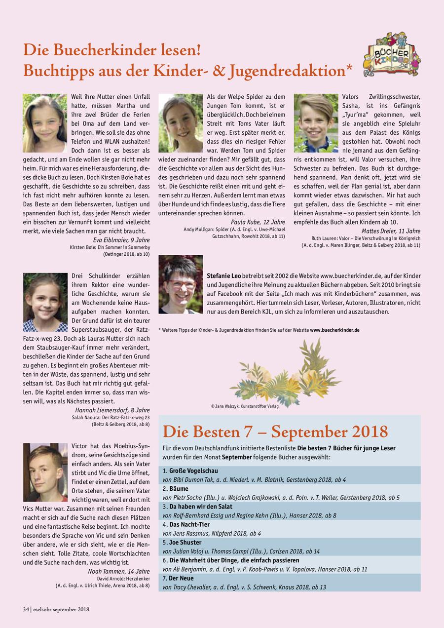 Eselsohr September 2018