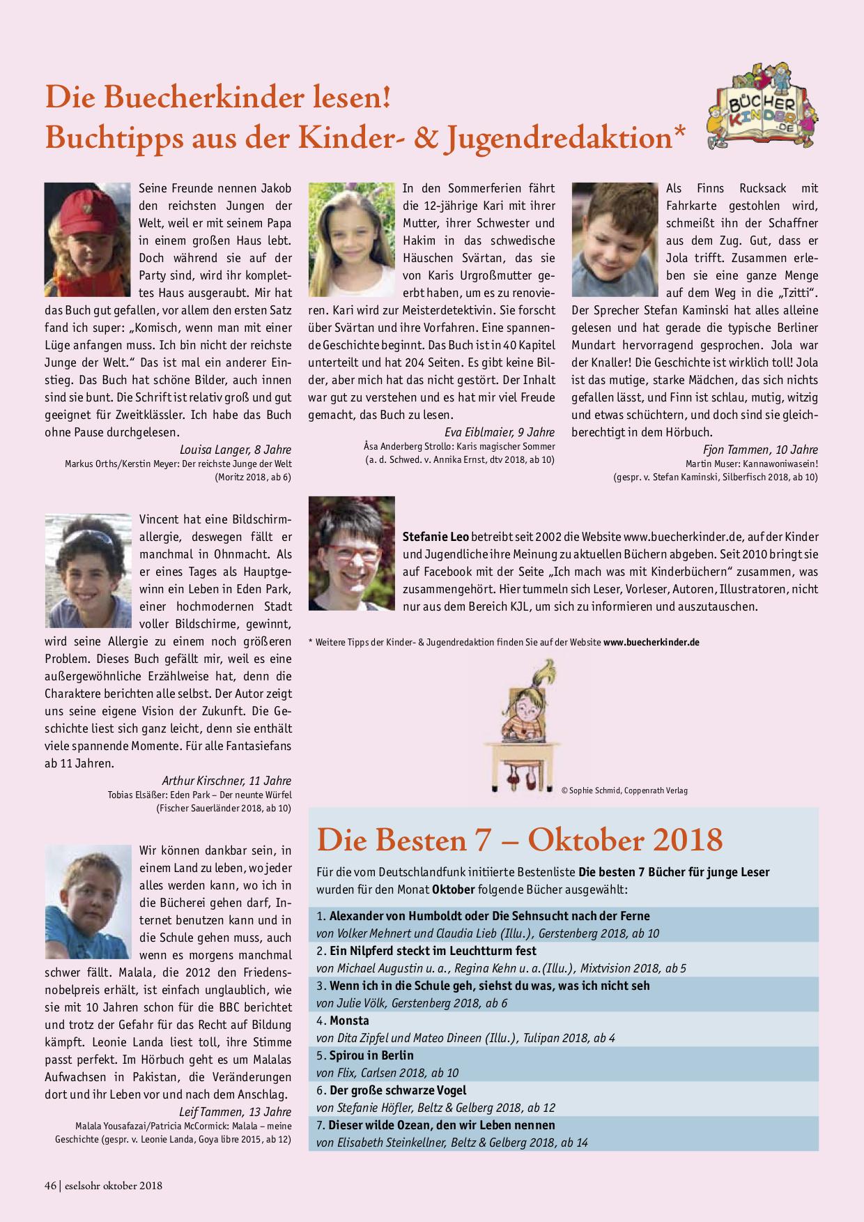 Eselsohr Oktober 2018