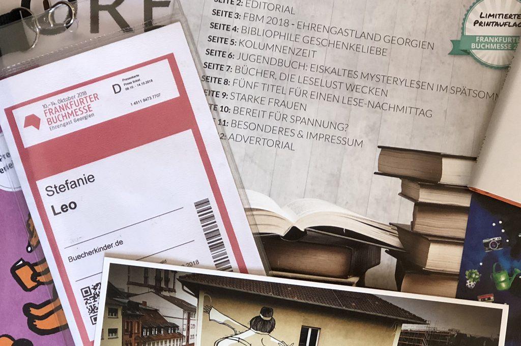 Buchmesse-Zeug