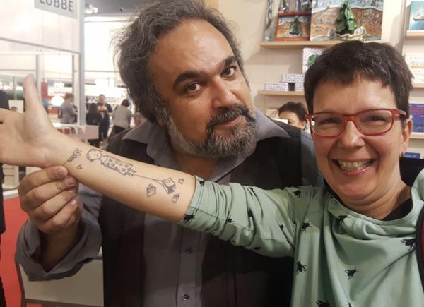 Mehrdad Zaeri, mein Arm und ich.
